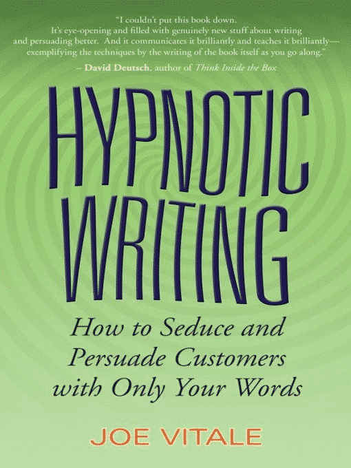 Le Livre Hypnotic Writing de Joe Vitale